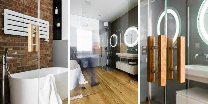 Ponadczasowe połączenie ceglanej ściany i drewnianej podłogi