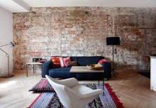 Ceglany kolaż – czyli stara ceglana ściana w designerskim stylu