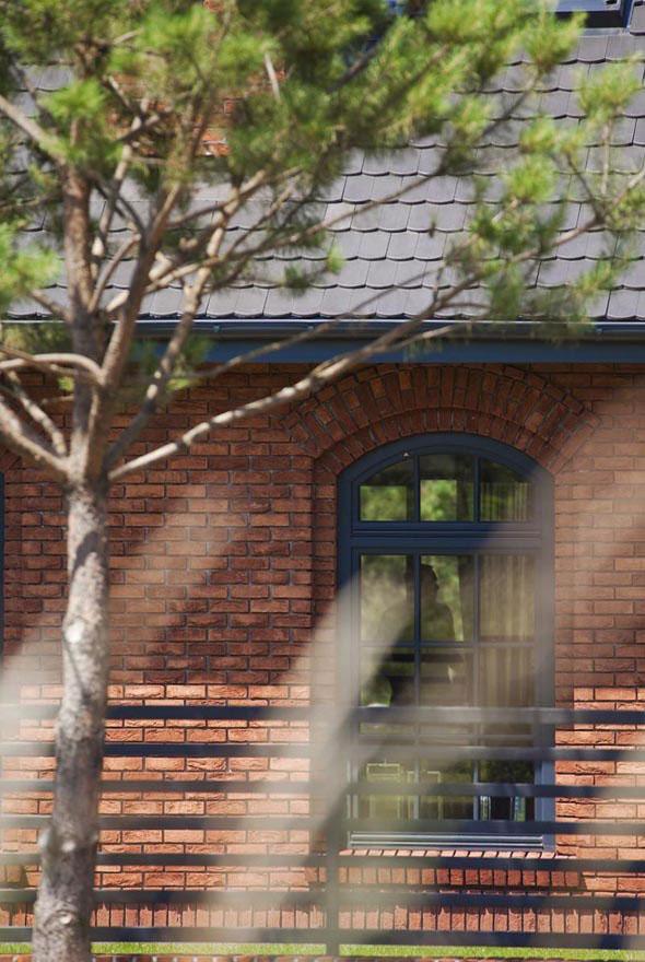 Ceglane ściany w domu