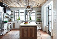 5 inspirujących pomysłów na podłogi z płytek ceglanych w kuchni.