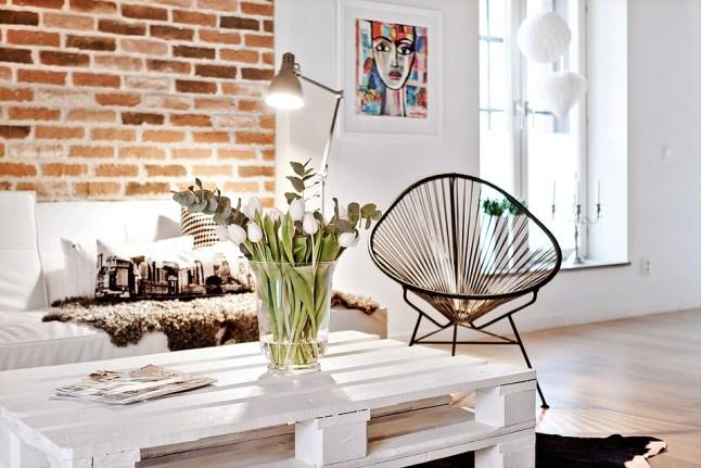 Stara ceg a stal drewno i nie na biel wygl da lepiej ni dobrze ceglane inspiracje blog - Deco klein appartement ...