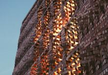 Ceglane elewacje od Anagram architects