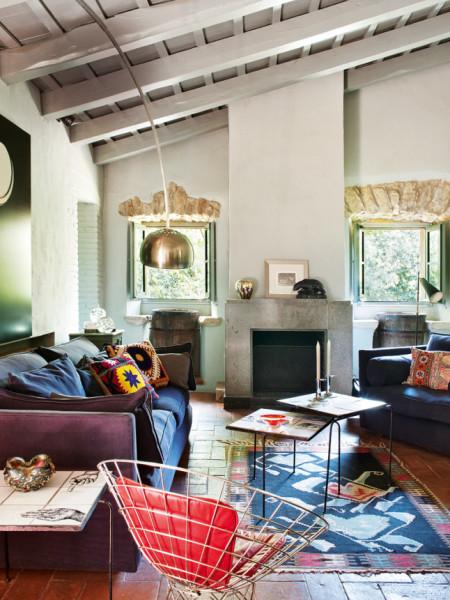 Ceglana podłowa w mieszkaniu