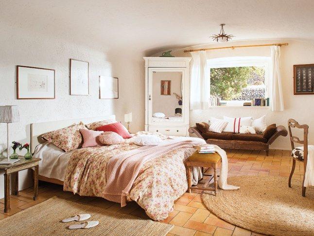 Rustykalny charakter… cegła na podłodze